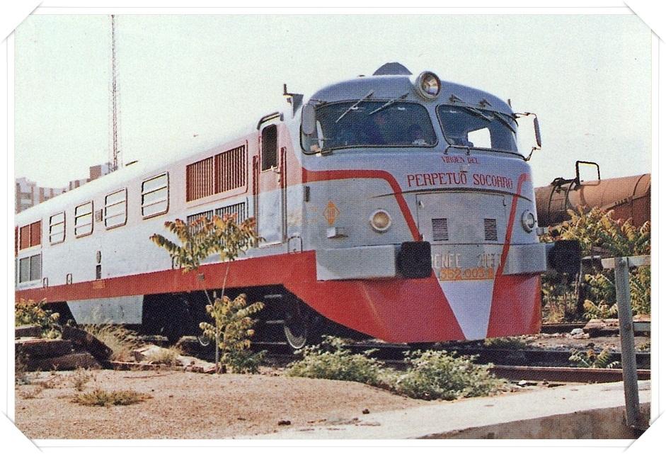 Spanish train